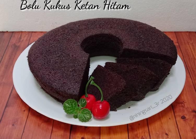 Bolu Kukus Ketan Hitam - cookandrecipe.com