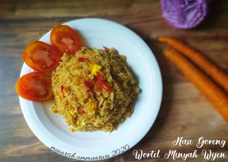 Resep Nasi Goreng Wortel Minyak Wijen #188⁷ Bikin Ngiler