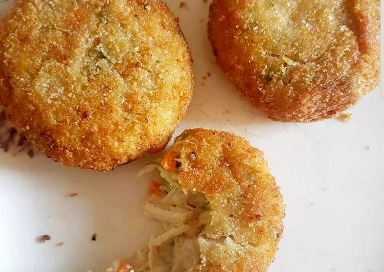 How to Prepare Delicious Chicken cheese Cutlet