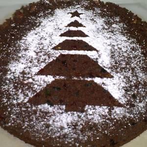 Torta Navideña o Negra sin harina, sin azúcar y sin mantequilla