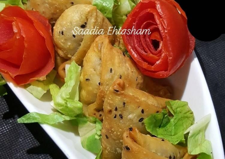 Top 100 Dinner Easy Spring Qeema samosa..