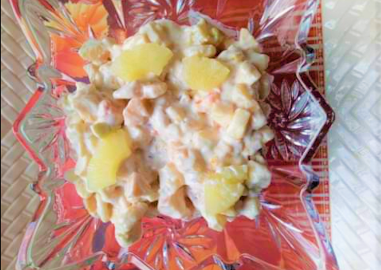 Creamy Fruit Salad 😋