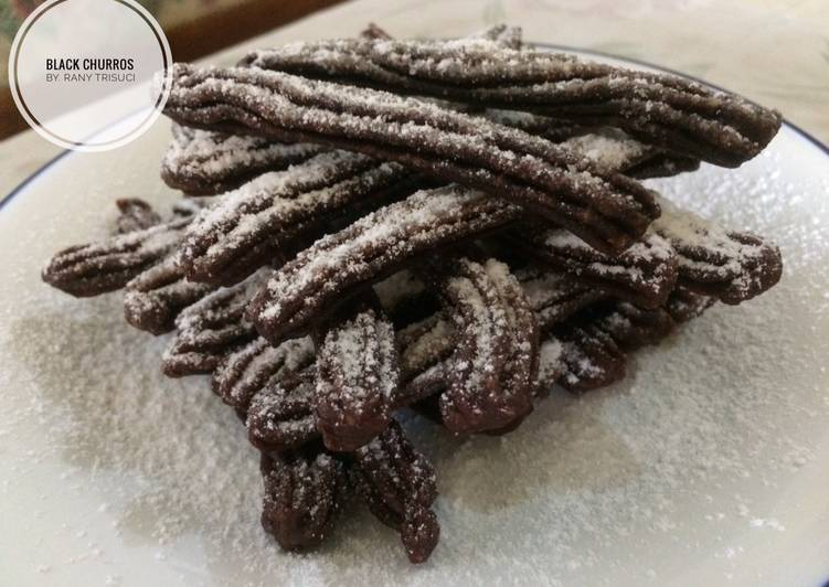 BLACK CHURROS #7