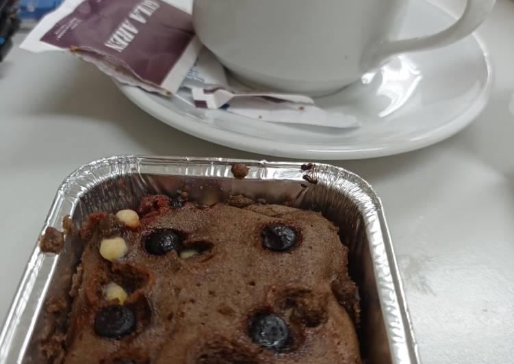 Super Easy Chocolate Steam Cake