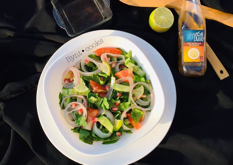 Steps to Prepare Homemade Watercress salad