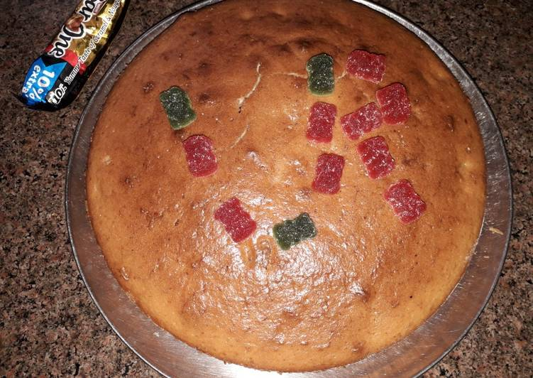 Easiest Way to Make Ultimate Homemade eggless cake