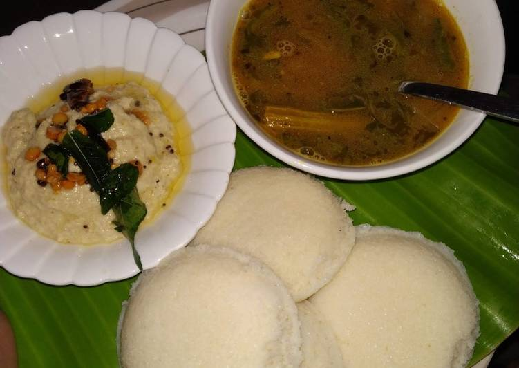 Recipe of Homemade Maize rava idli