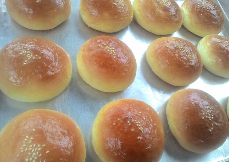 Resep Roti Burger oleh Mommy Adrina - Cookpad