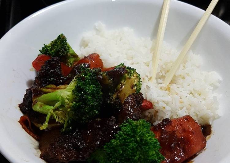 Beef with Broccoli and Veg