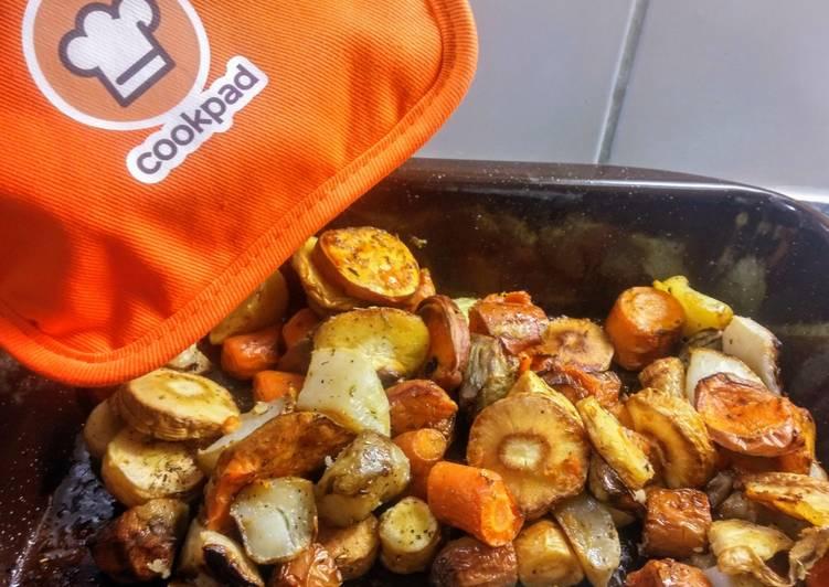 Légumes rôtis au fours (vegan)