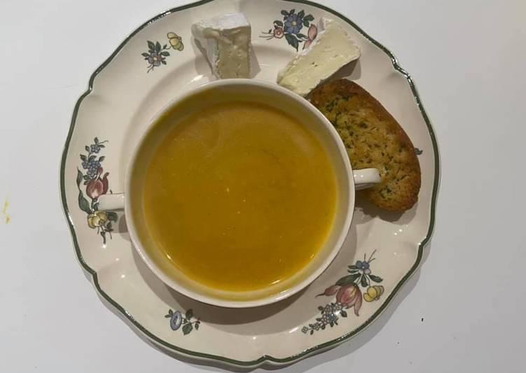 Comment Faire Des Soupe potimarron et pommes de terre