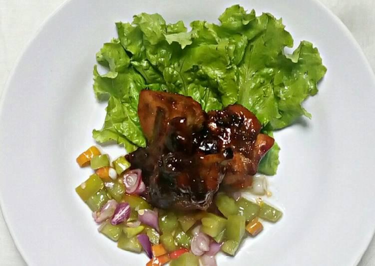 Ayam Panggang Banjar Sambal Dabu-dabu - cookandrecipe.com
