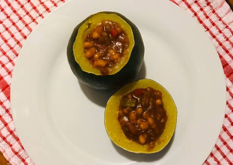 Recipe of Ultimate Gem squash and baked beans