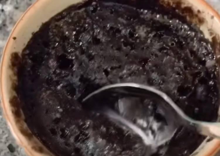 Brownie de Oreo 🍪 (al microondas)