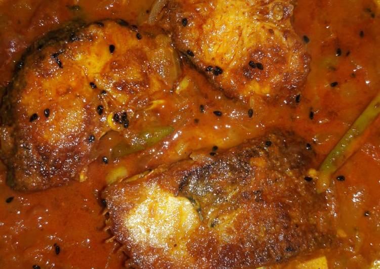 Recipe of Favorite Fish curry