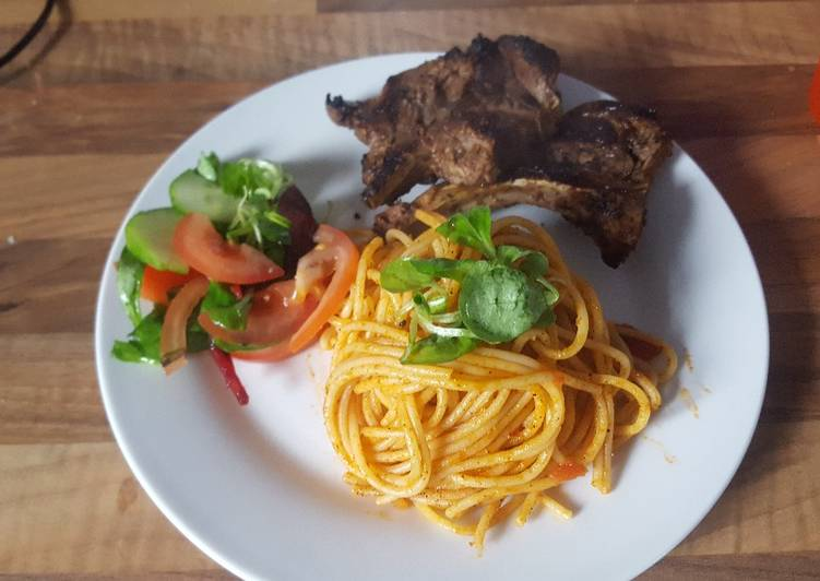 How to Make Super Quick Homemade Classic tomato sauce pasta
