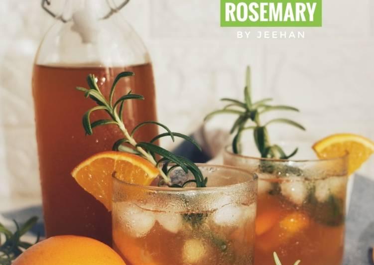 Ice Tea Orange Rosemary - resepipouler.com