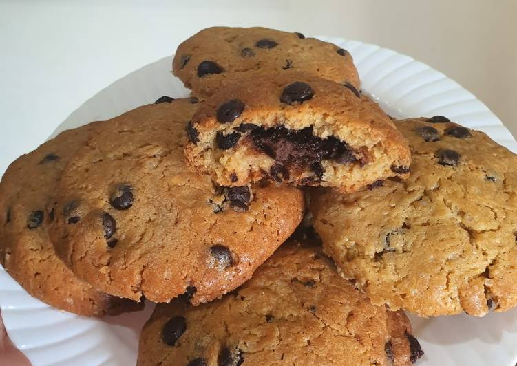 Choco chips cookies lumer(dough lab)