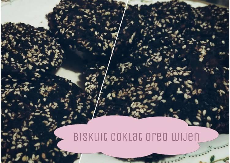 Biskuit Coklat Oreo Wijen