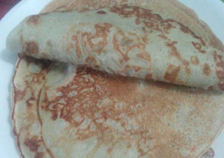Recipe of Perfect Banana pancakes (no baking powder)