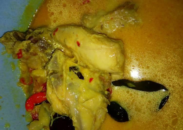 Cara Gampang Membuat Gulai Ayam Endeuuss, Menggugah Selera