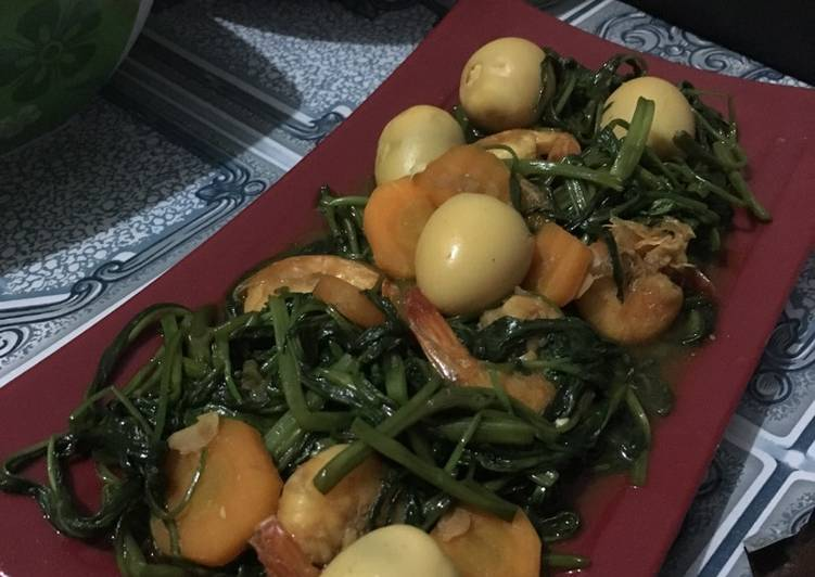 Tumis kangkung special ala fe