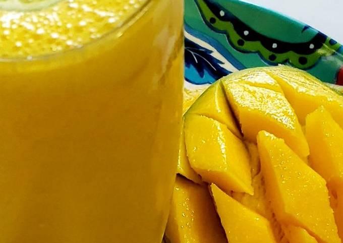 Vanilla mango lassi