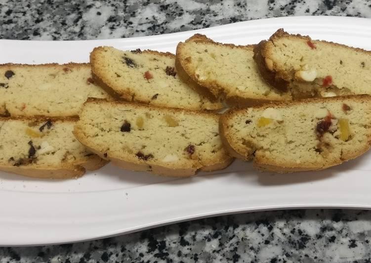 Steps to Prepare Super Quick Homemade Biscotti