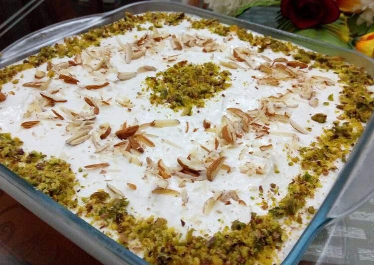 Layani lubnan (Arabian dessert)