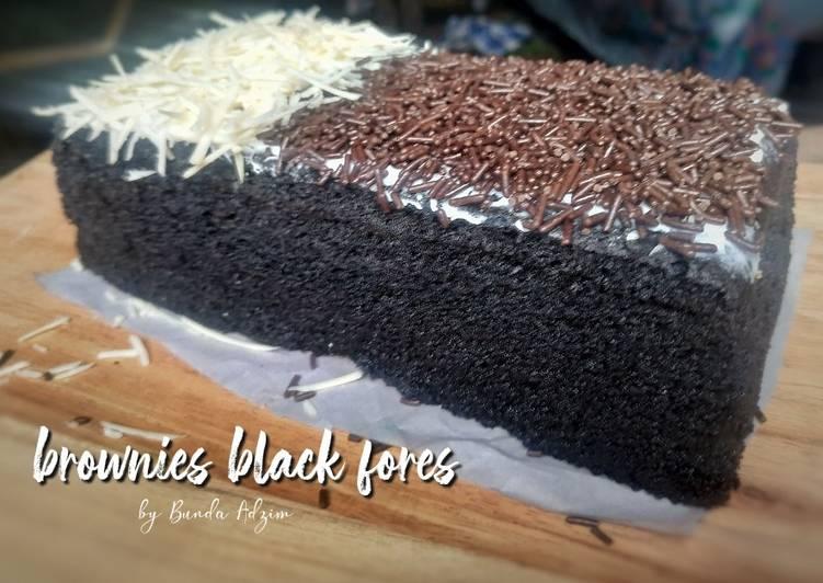 Brownies blackfores ny liem|| kukus || 4 telur