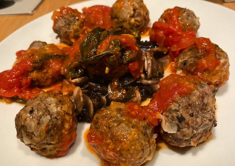 Mumma' s (not so secret) Italian meatballs