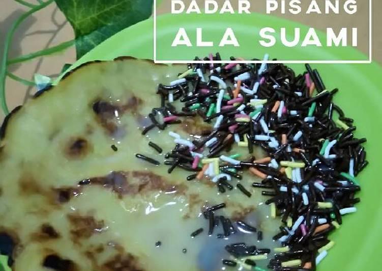 Resep Dadar Pisang ala Suami (Pancake Pisang) Paling Gampang
