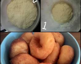 Donat kentang (Camilan Bayi 1y+)
