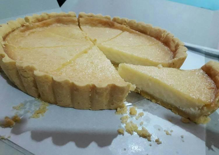 Resep Tart susu (pie susu) / kue lontar (crust pie enak) Paling Gampang