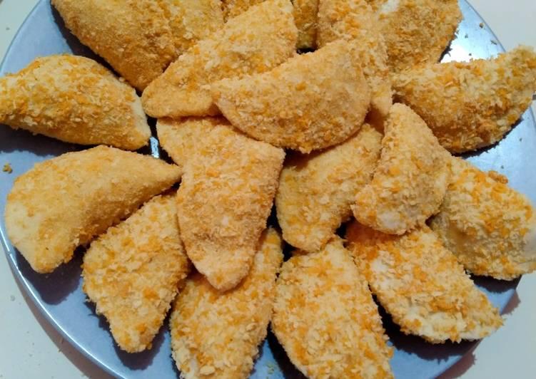 Resep Cireng isi ayam suir hot jeletot yang Enak