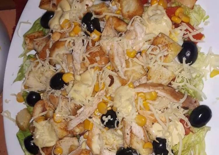 Recette: Salade César