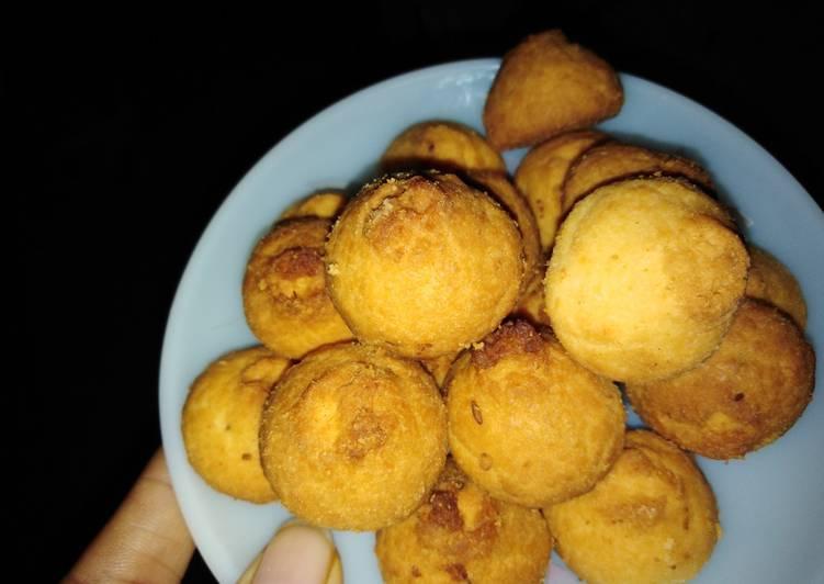 Cumin wheat flour cookies