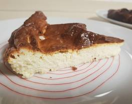 Tarta de queso low carb