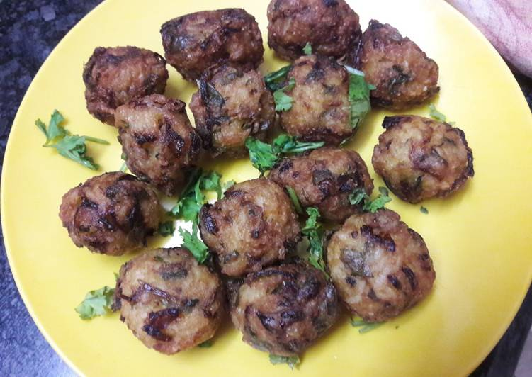 7 Way to Create Healthy of Leftover Rice balls