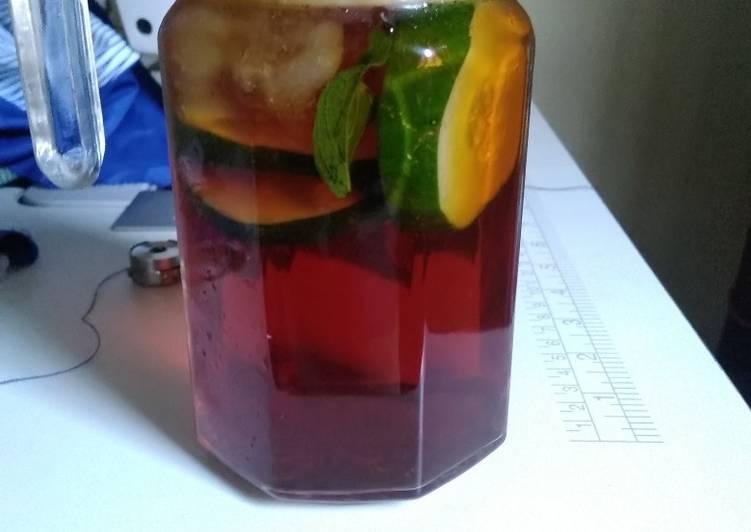 Recipe: Yummy Ice tea