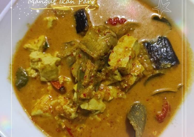 Mangut Ikan Pari