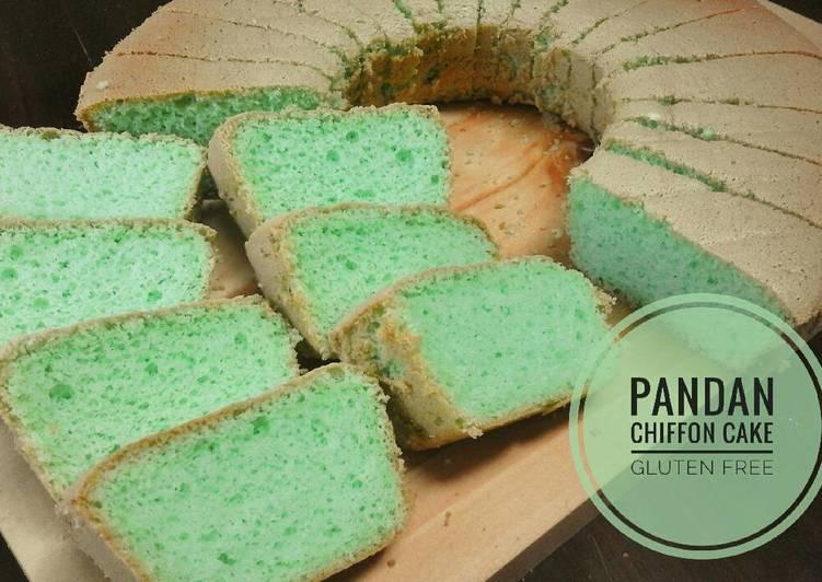 Pandan Chiffon Cake Tepung Beras