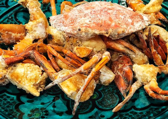Ginger and Scallion Fried Mud Crab