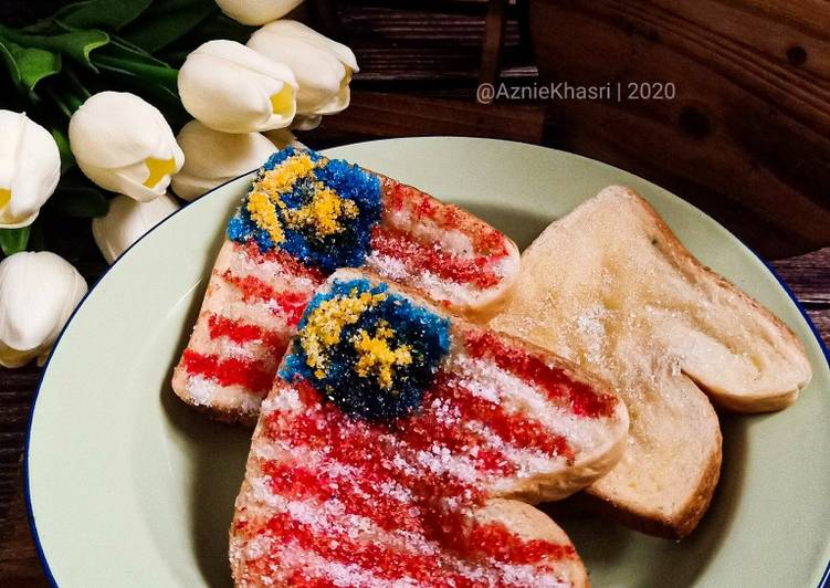 Resepi: Roti Butter Gula(vs Merdeka)  2021