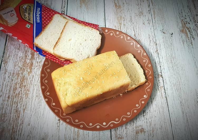 Bread making in Kadai