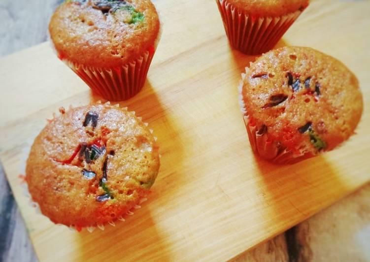 Cupcake Wortel 🥕🥕 (Empuk dan moist)