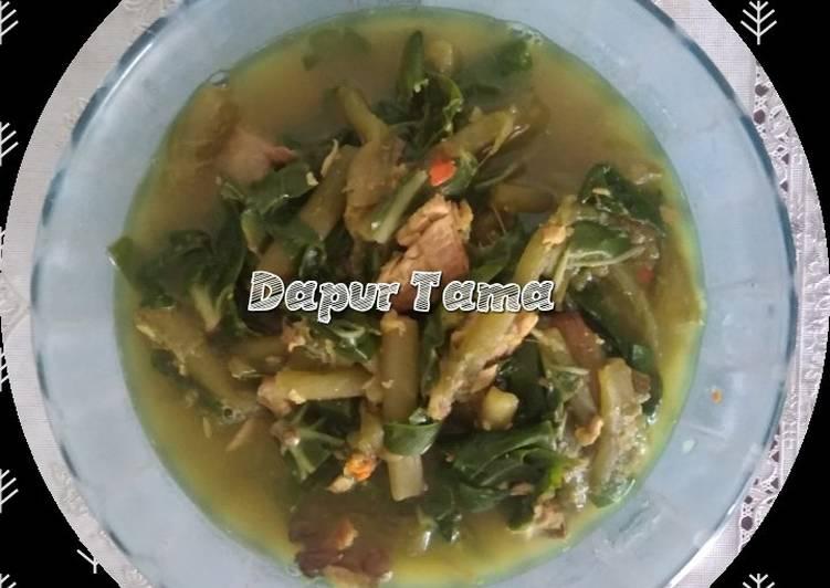 Resep Sayur Lompong (daun talas) Yang Gampang Pasti Lezat