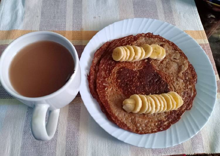 Simple Way to Prepare Quick Gluten free banana pancakes #breastfastideas