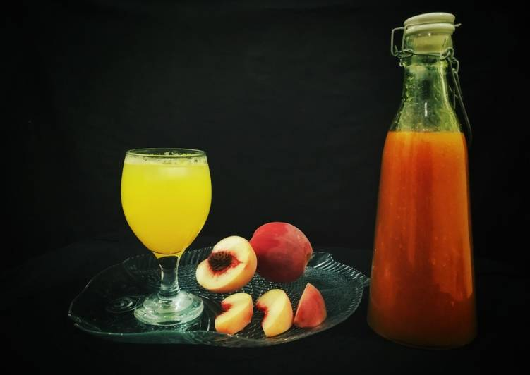 Peach Squash easy way