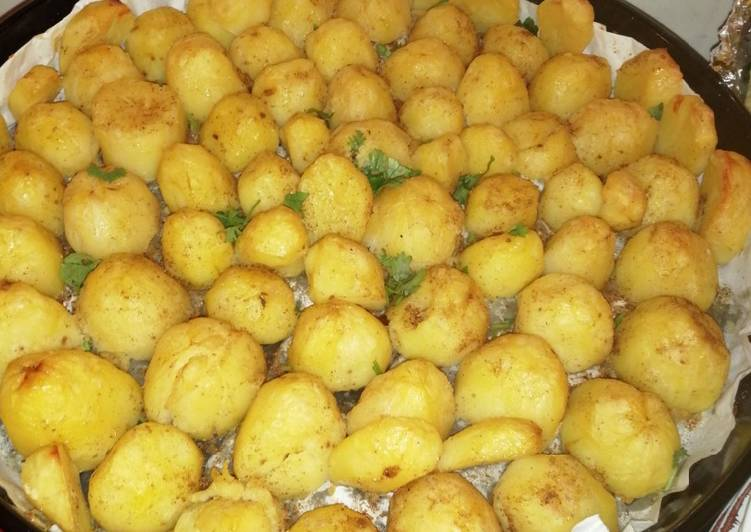 Recipe of Ultimate Oven Roasted potatoes